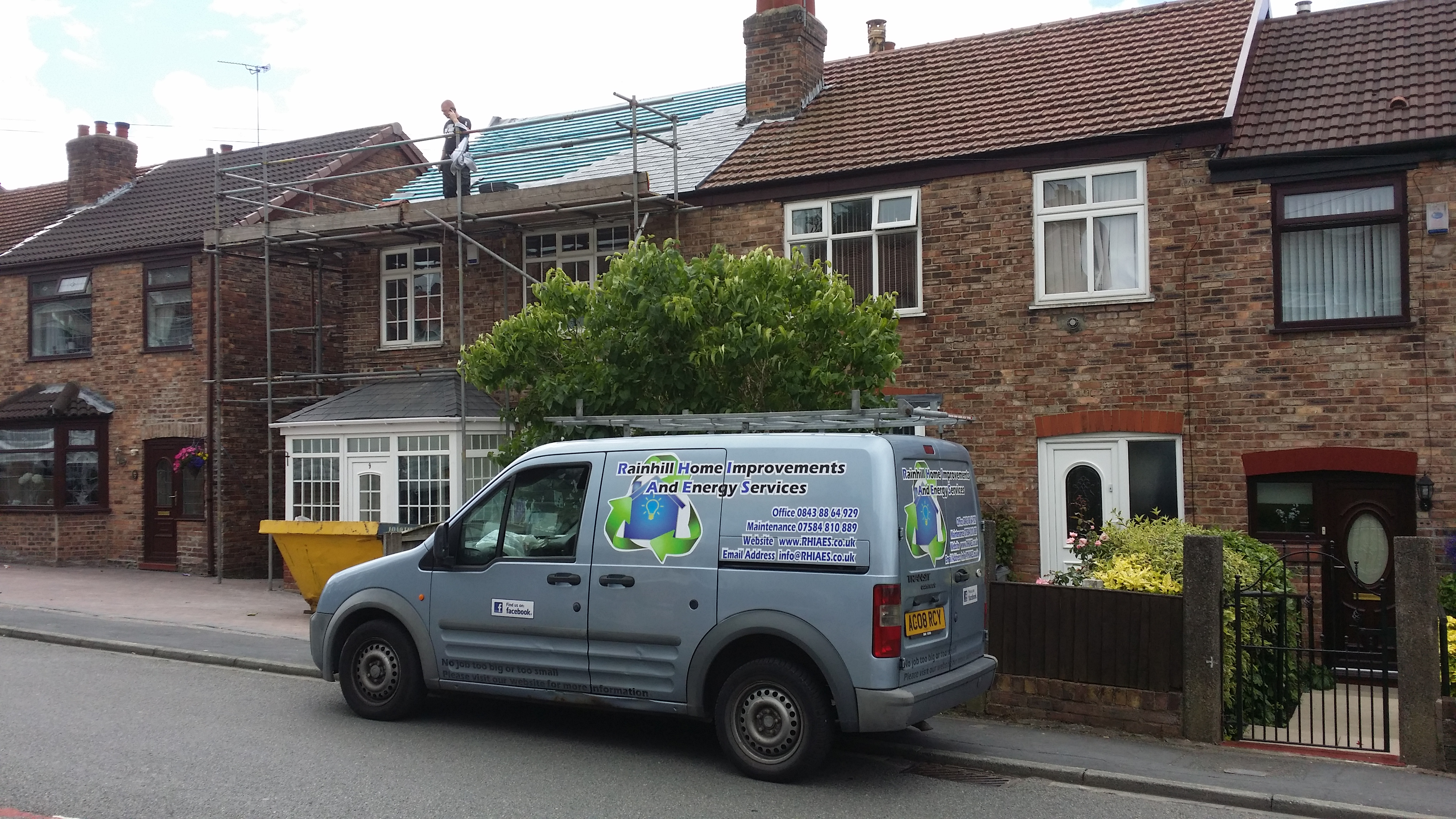 Rainhill Home Improvements and Energy Services also do residential property maintenance
